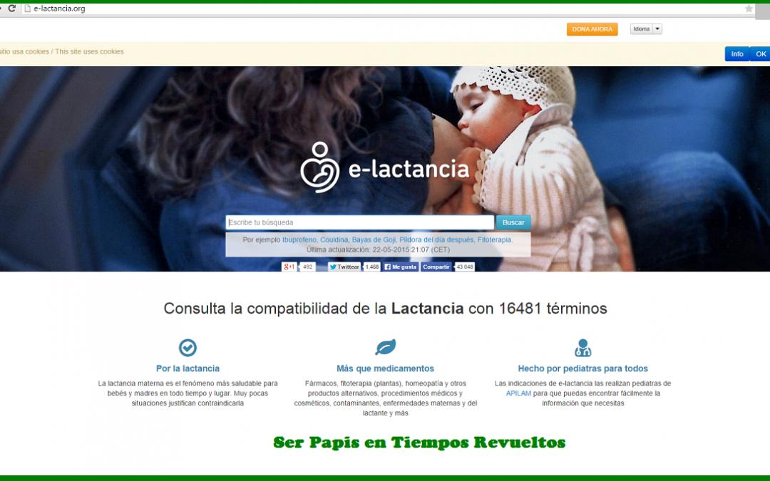 Medicamentos compatibles con la lactancia o e-lactancia.org