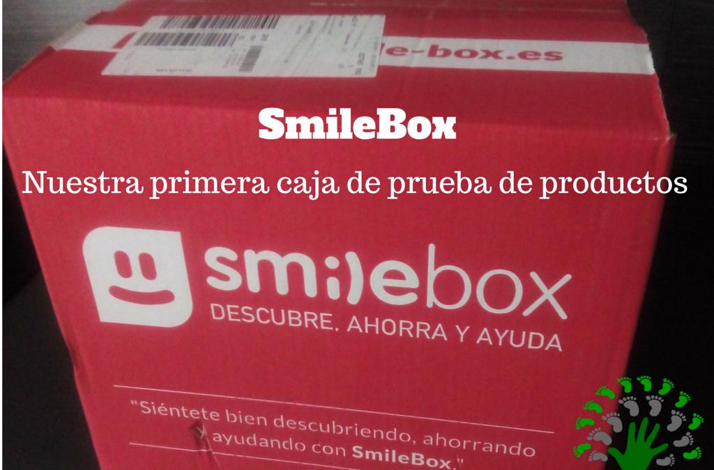 SmileBox de Mayo 2015 – Nuestra primera caja de prueba de productos