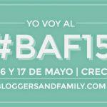 Nos vamos al BAF15 ¿nos acompañas?