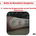 Línea de Evaporación en los Test de Embarazo – Dudas de Buscadores inexpertos 3