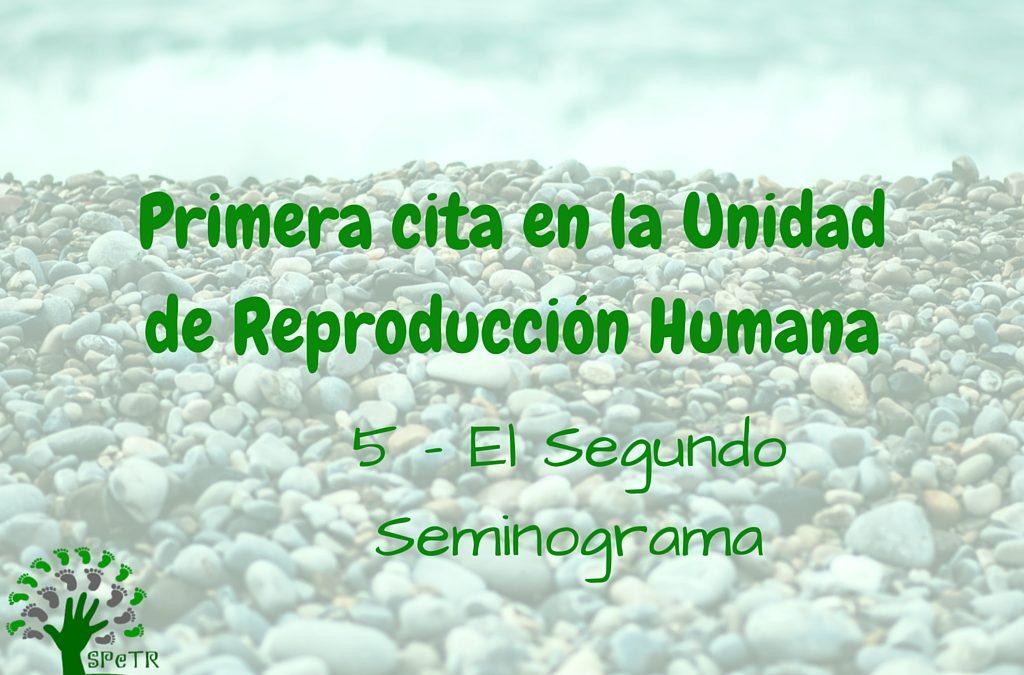 Primera cita en la Unidad de Reproducción: 5 – El segundo Seminograma