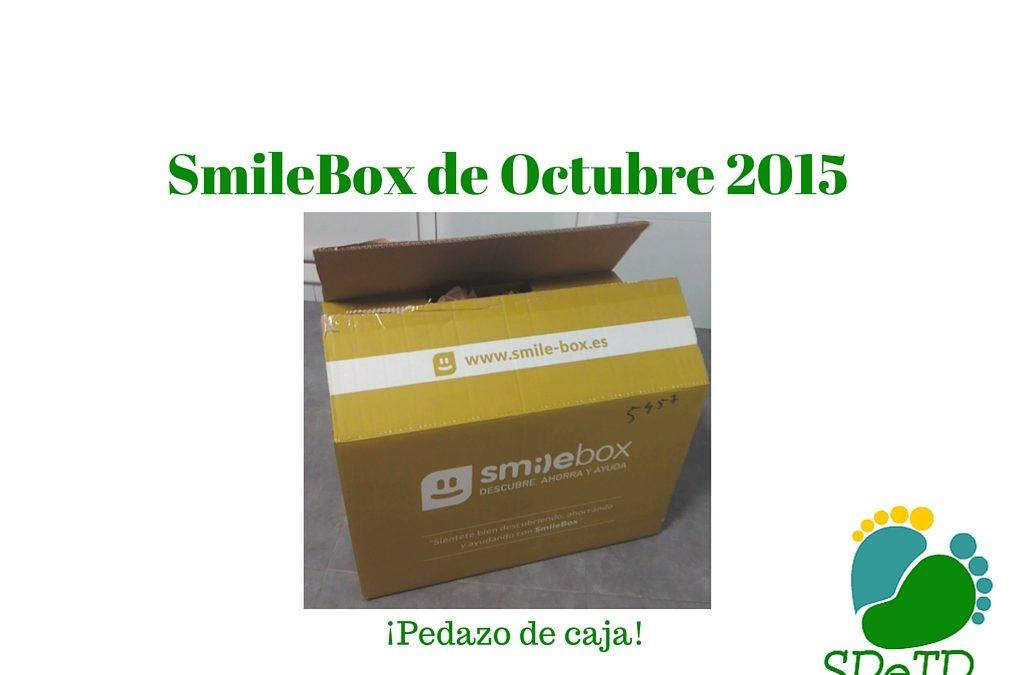 SmileBox de Octubre: Una súper caja