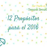Nuestros propósitos para el 2016