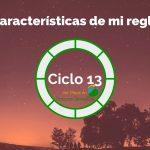 Características de mi regla – Ciclo 13