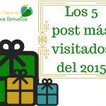 Los cinco post más visitados del 2015