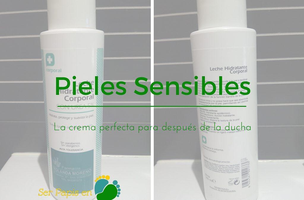 Pieles Sensibles: Buscar la crema perfecta para después de la ducha