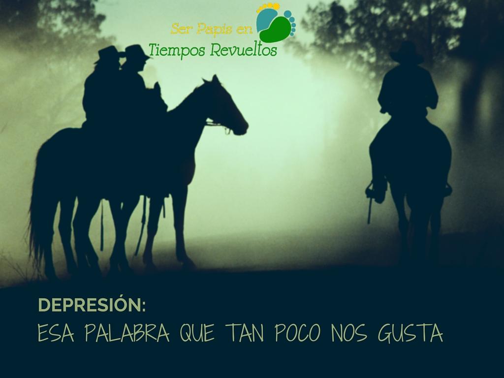 Depresión, esa palabra que tan poco nos gusta