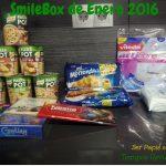 SmileBox de Enero 2016 – Año nuevo, productos nuevos