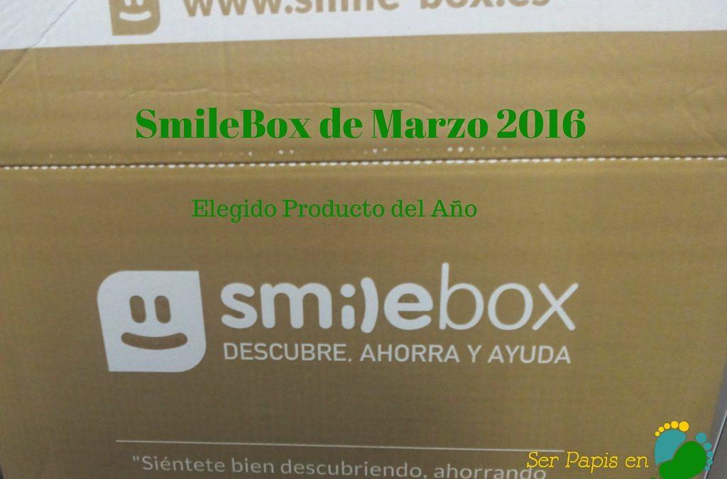 Smilebox de Marzo 2016: Producto del Año