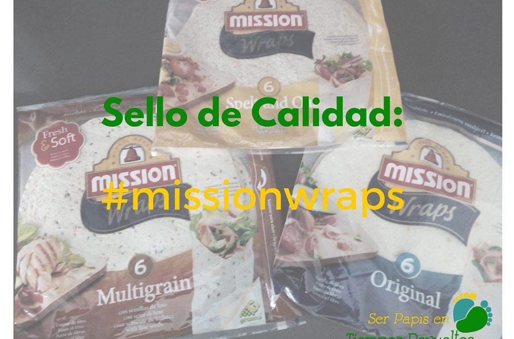 Sello de Calidad: Mission Wraps o cómo hacer de tu comida algo divertido