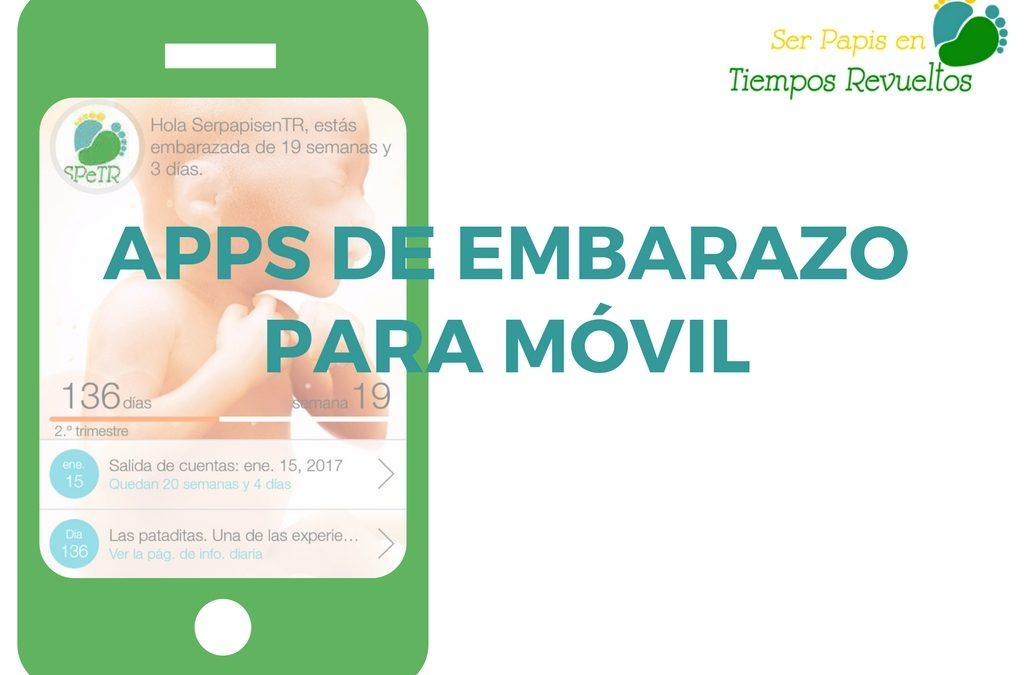 Apps de embarazo para móvil