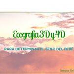 Ecografía 3D y 4D para determinar el sexo del bebé
