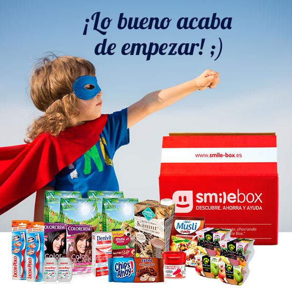 SmileBox de Julio 150º Aniversario de Nestlé