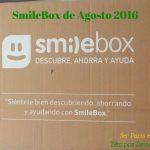 SmileBox de Agosto 2016 y la nueva #SmileBoxUnilever