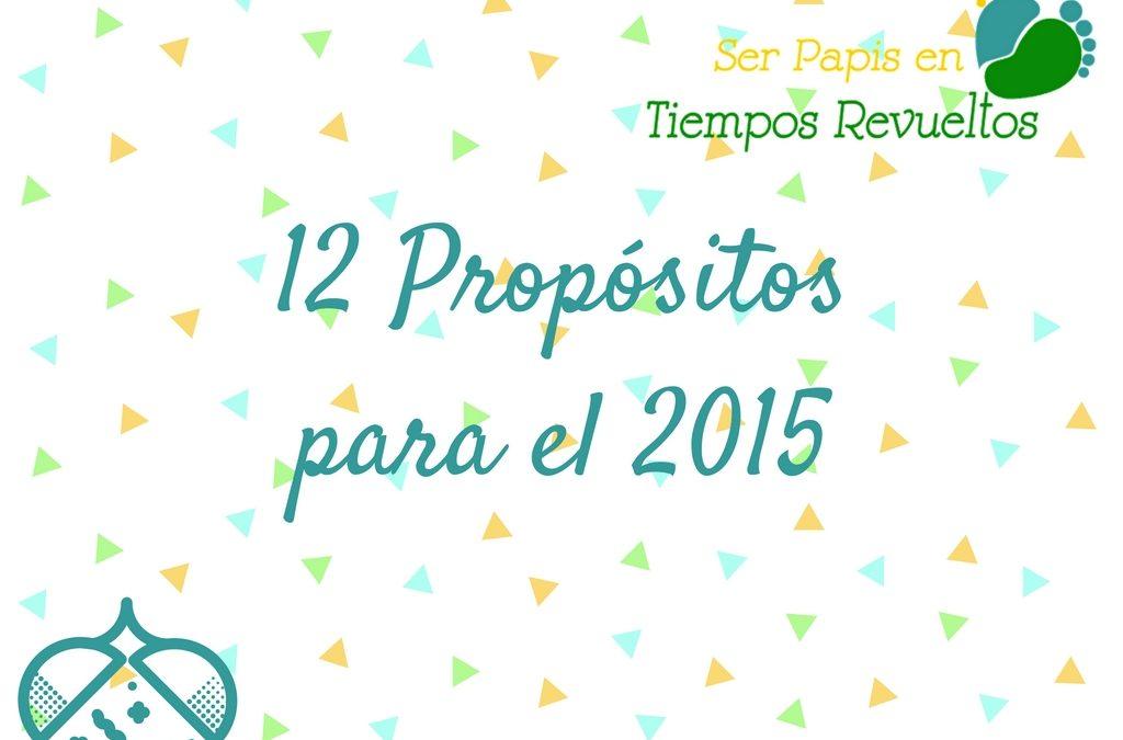 12 Propósitos para el 2015