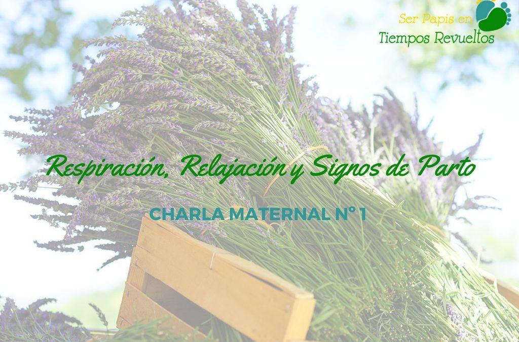 Respiración, Relajación y Signos de Parto – Charlas Maternales