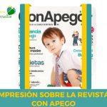 Impresión sobre la revista Con Apego