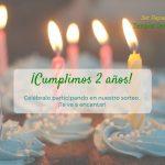 [CERRADO] Sorteo 2º Aniversario Blog
