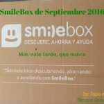 SmileBox de Septiembre 2016 y #Felices3SmileBox