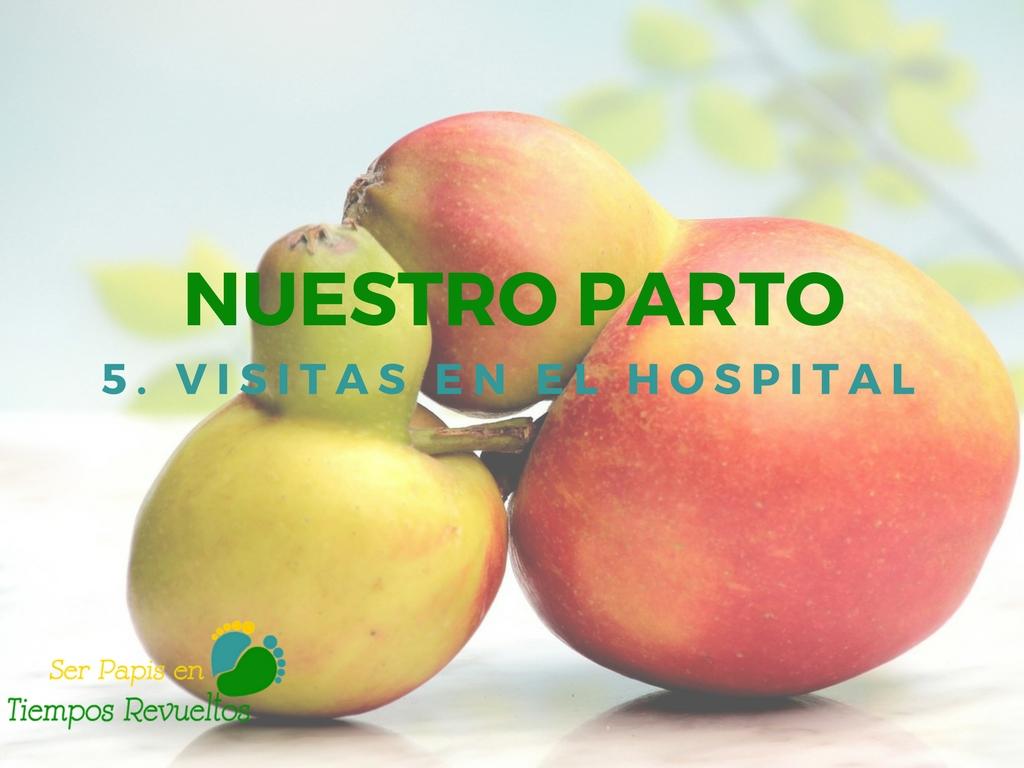 Nuestro parto: las visitas en el Hospital
