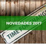 Novedades 2017 en el blog