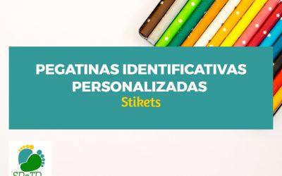 Pegatinas identificativas personalizadas Stikets + SORTEO [CERRADO]