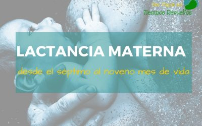 Lactancia Materna: desde el séptimo al noveno mes de vida