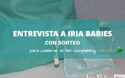 Entrevista con Iria Babies + SORTEO [CERRADO]