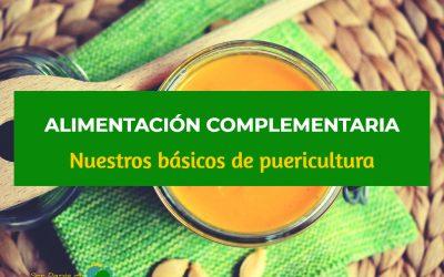 Alimentación Complementaria (II): Nuestros básicos a la hora de comer