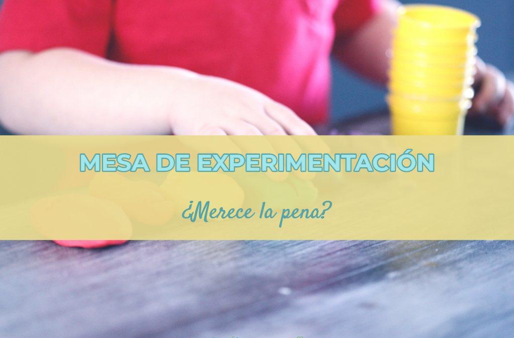 Mesa de experimentación para bebés: ¿merece la pena?