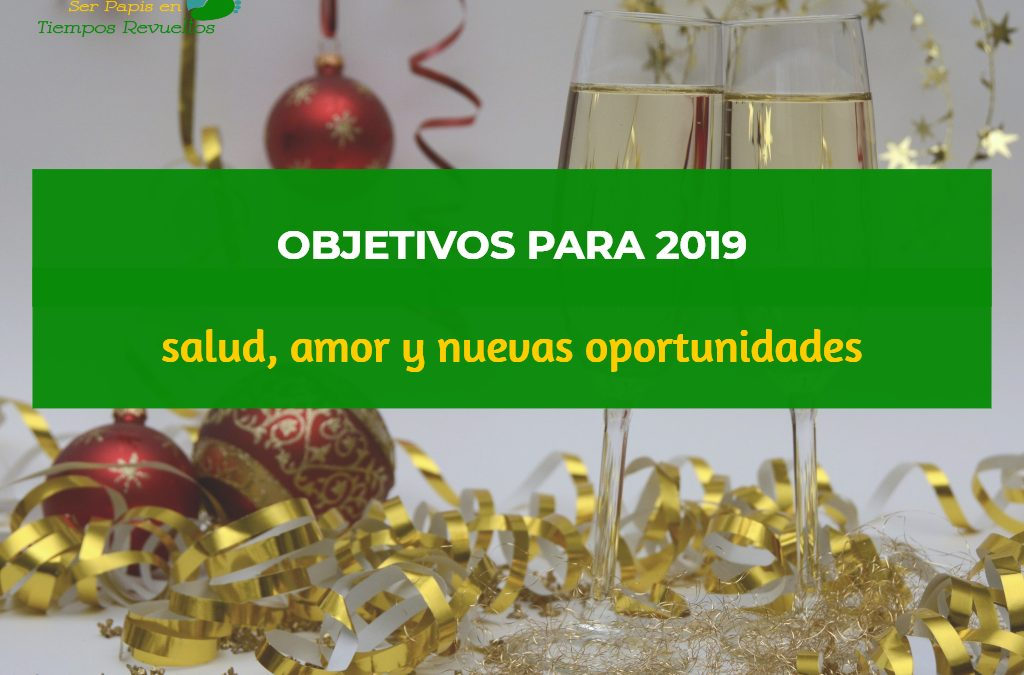 Objetivos para 2019: Familia, trabajo y blog