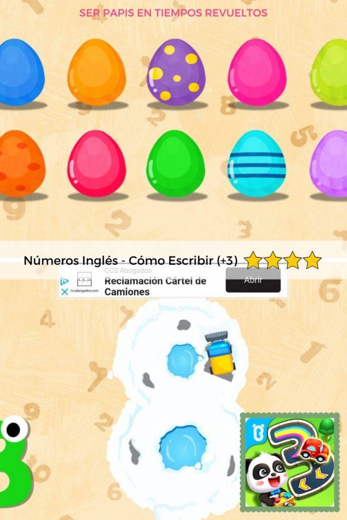 números-inglés-cómo-escribir-app-infantil